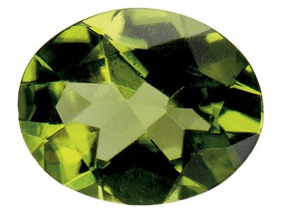 Peridoto Oval 6 X 4 MM