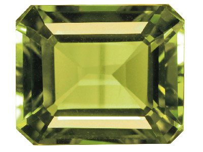 Peridoto Octogonal 8 X 6 MM