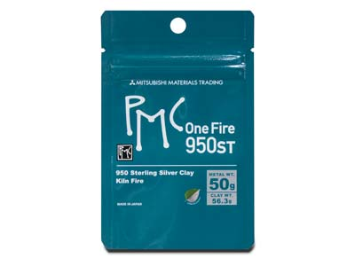 Precious Metal Clay Onefire Sterling 56,3 G Pmc