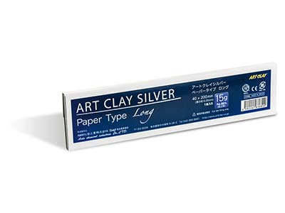 Papel Art Clay De Tipo Largo 15g, 40 X 200mm