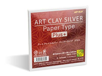 Papel Art Clay De Tipo Plus 35g, 85 X 85mm