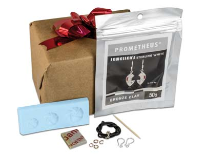 Kit De Colgantes Florales Prometheus En Sterling White Bronze