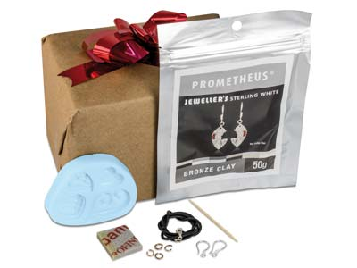 Kit De Colgantes De Corazn Prometheus En Sterling White Bronze
