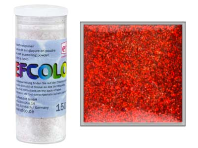 Esmalte Efcolor, Rojo Brillante, 10ml