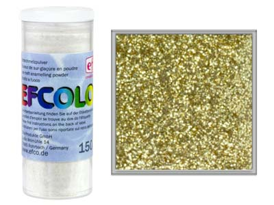 Esmalte Efcolor, Oro Brillante, 10 Ml