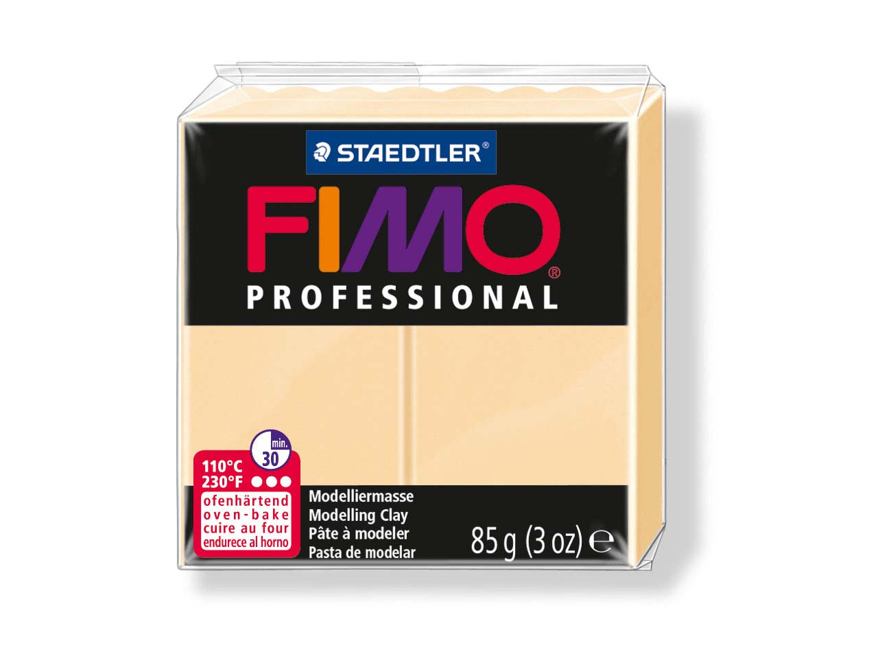 Fimo Professional Champagner 85g Polymer Clay Block Fimo Colour Reference 02