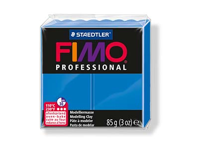 Fimo Professional Blue 85g Polymer Clay Block Fimo Colour Reference 300