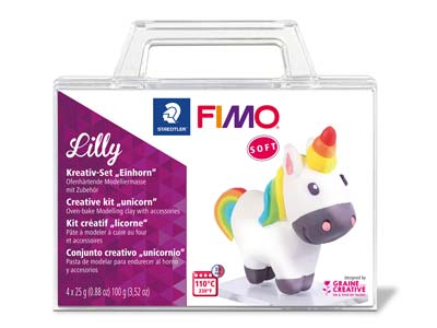 Kit Creativo Fimo Soft Lilly El Unicornio