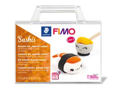 Kit Creativo Sushi Fimo Soft