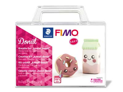 Kit Creativo Fimo Soft Donut