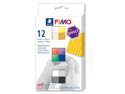 Fimo-Effect-Colour-Pack,-Paquete-De12