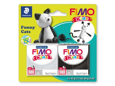 Fimo Kids Funny Cats