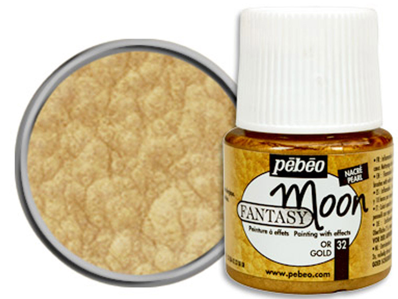 Pebeo Fantasy Moon, Gold, 45 Ml Un 1263