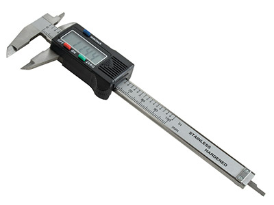 Pie De Rey Digital De Acero Inoxidable, Calibrador Vernier, 4100 MM
