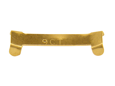 Clip Reductor De Oro Amarillo De 9 Ct Tamaño 5, 2,5 X 5 MM