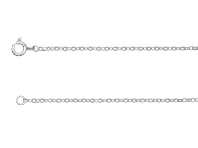 St Sil 1.9mm Trace Chain 1845cm Uh