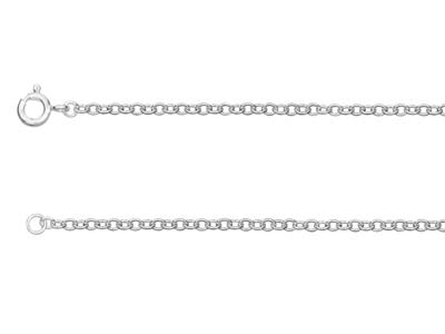 St Sil 2.3mm Trace Chain 2460cm Uh