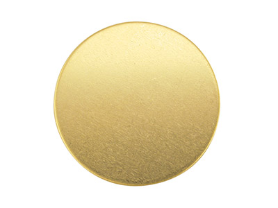 Base De Oro Amarillo De 9 Ct Fb18, 1,00 X 25 Mm, Redonda Recocido Completo, 25 MM